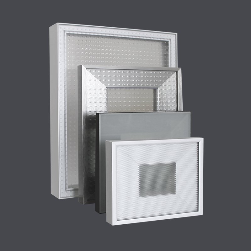 Marco Perfil Aluminio Vitrina para Puerta de Mobiliario